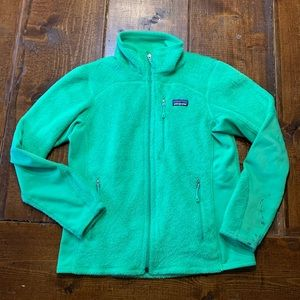 Patagonia R Fleece Zip Jacket Green